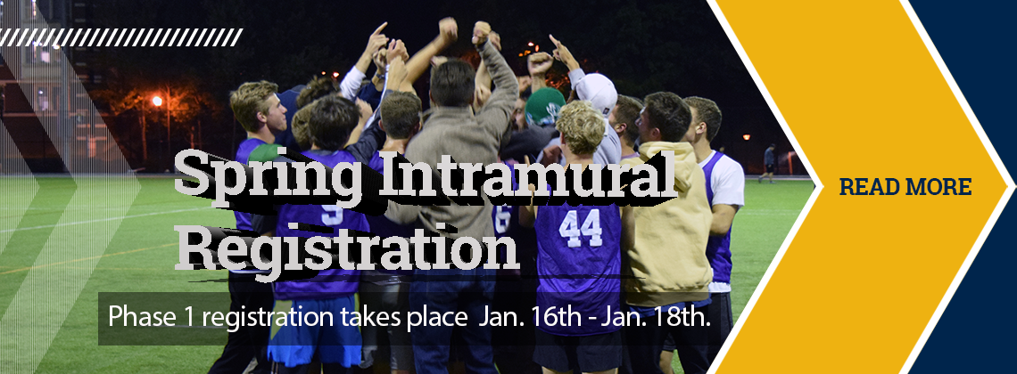 Spring Intramural Registration