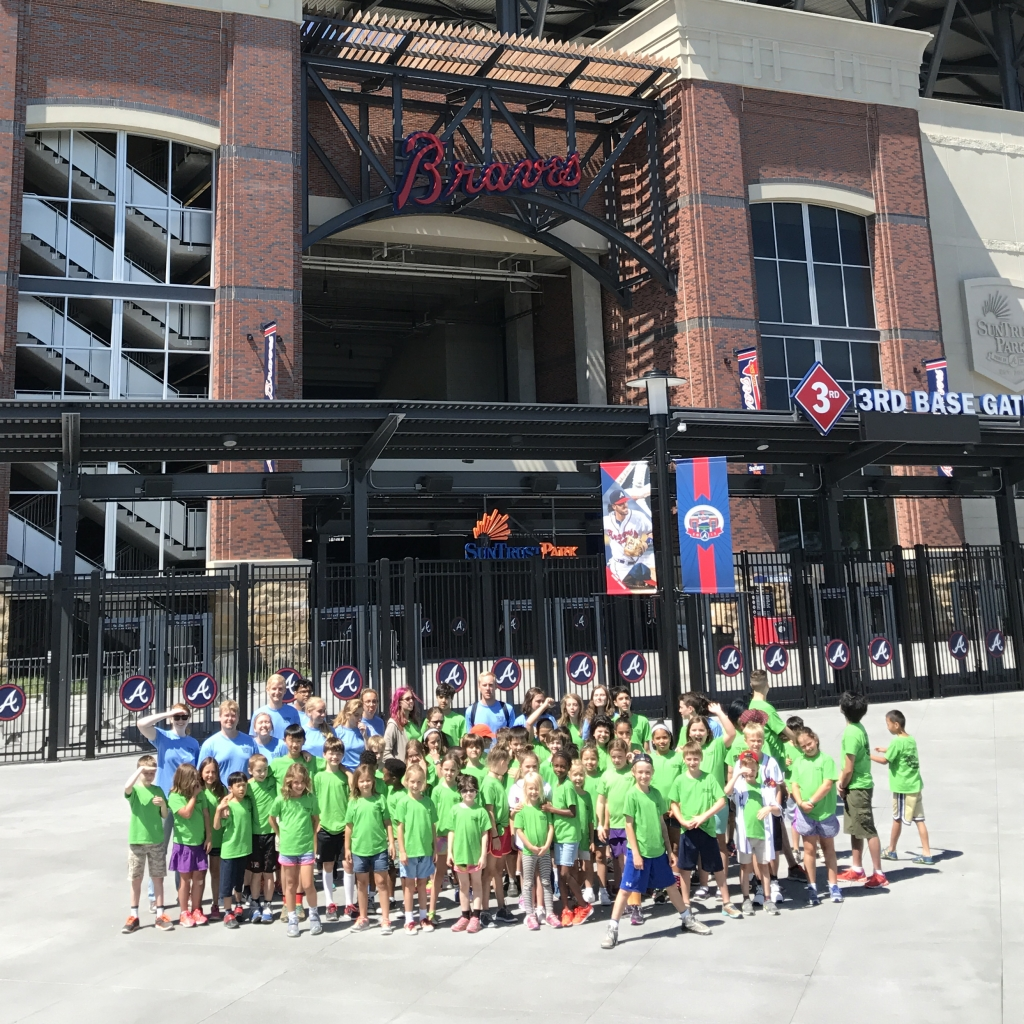 Tech Wreck Camp at Braves Stadium
