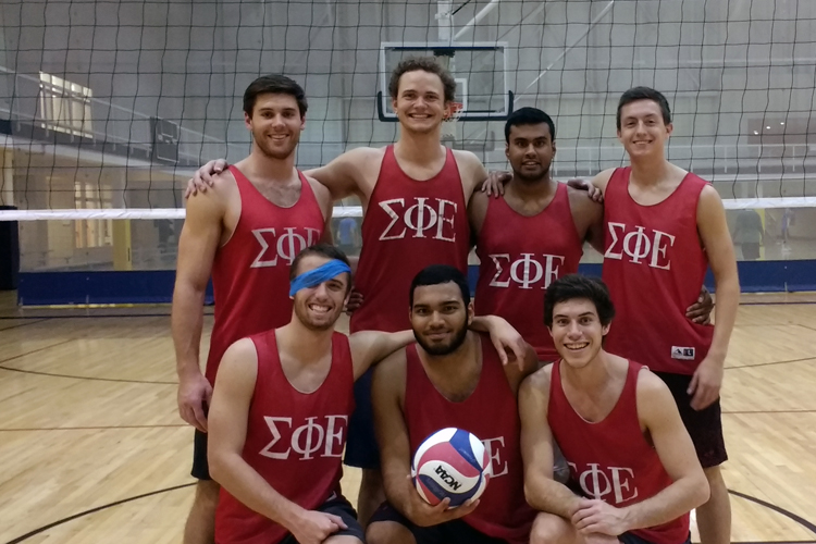 Volleyball School & Fraternity Champions